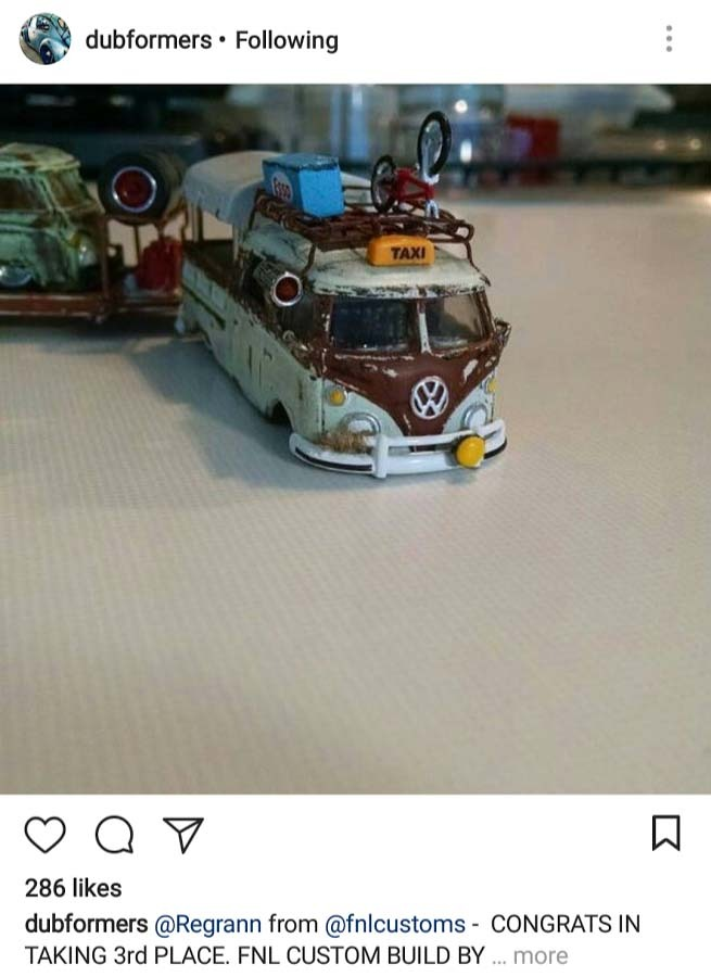 Kool Kombi Custom Hot Wheels - a Tribute to my Favorite casting