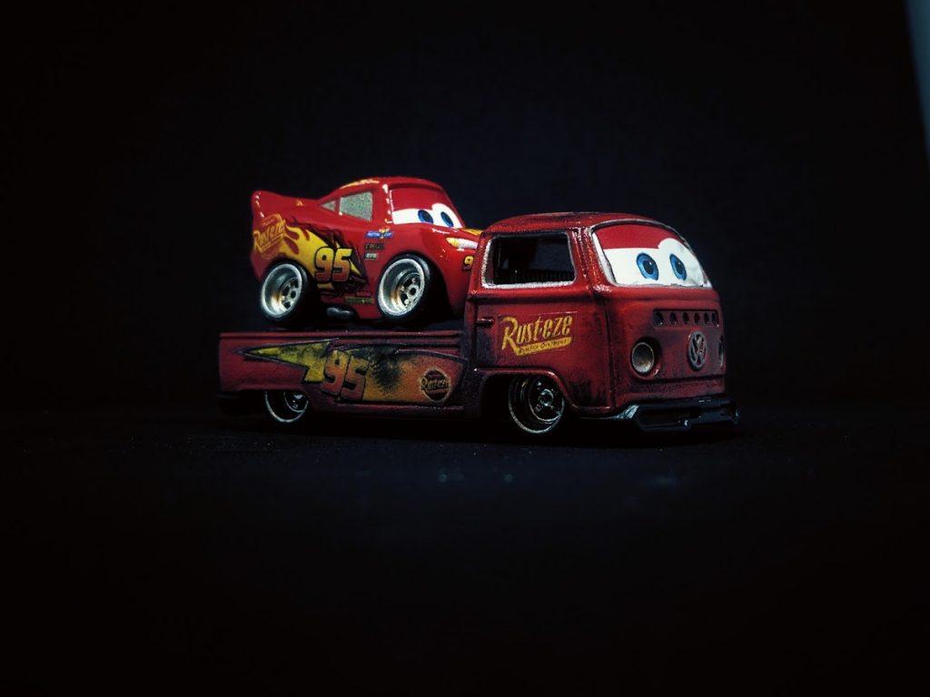 Lightning McQueen and Volks McWagen Custom Hot Wheels