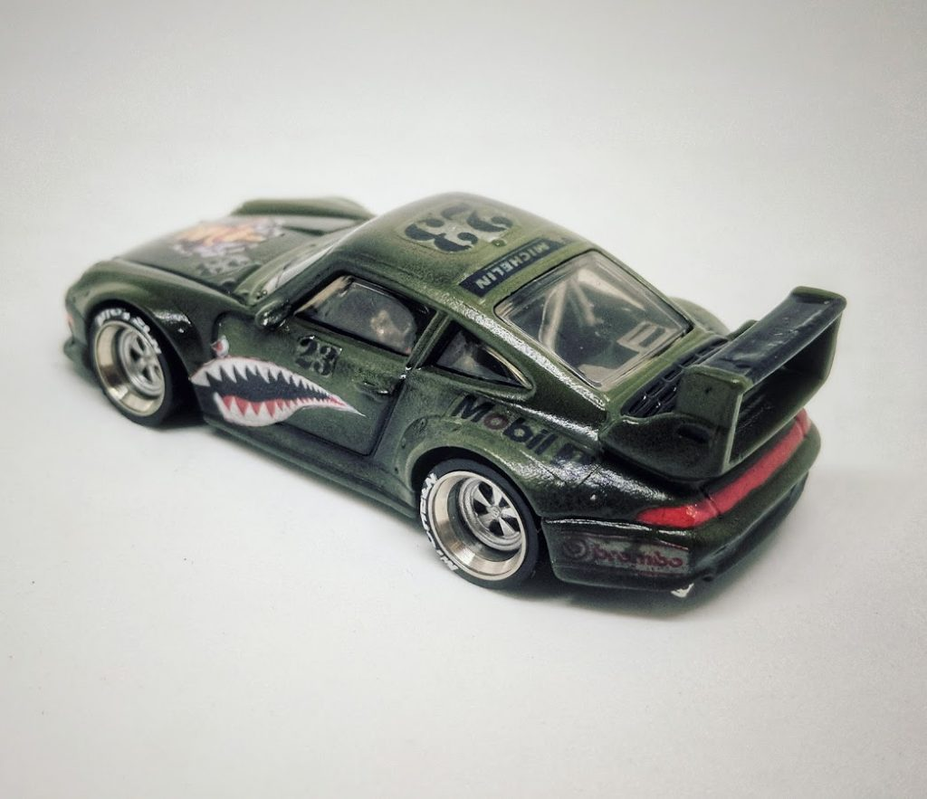 Porsche 911 RS2 - WWII Bomber style Custom Hot Wheels car