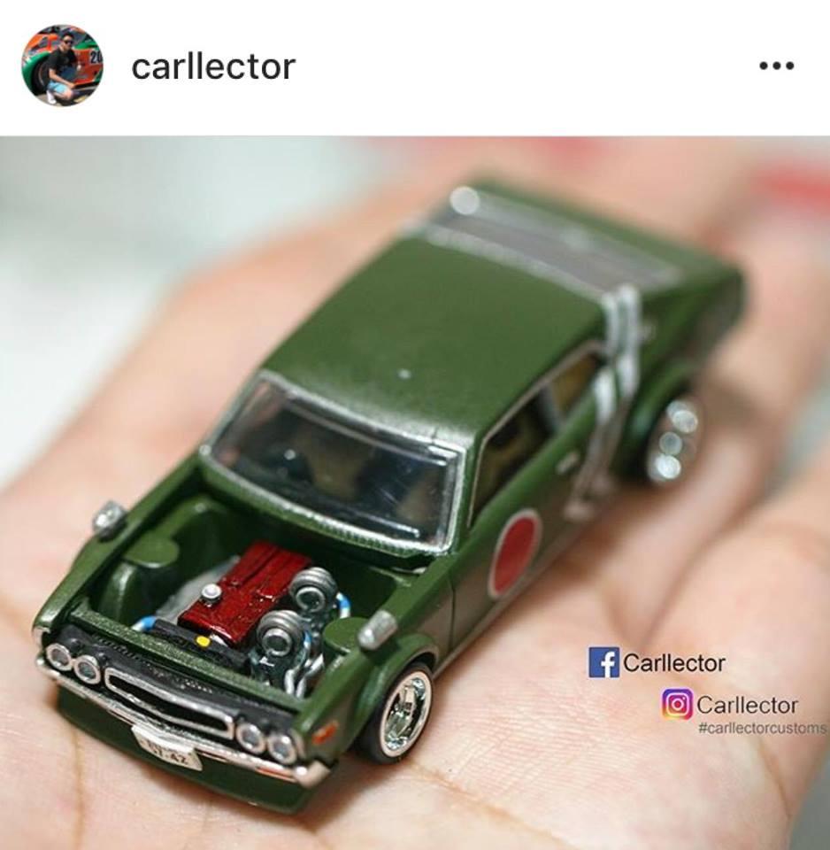 My Custom Hotwheels & Diecast Cars