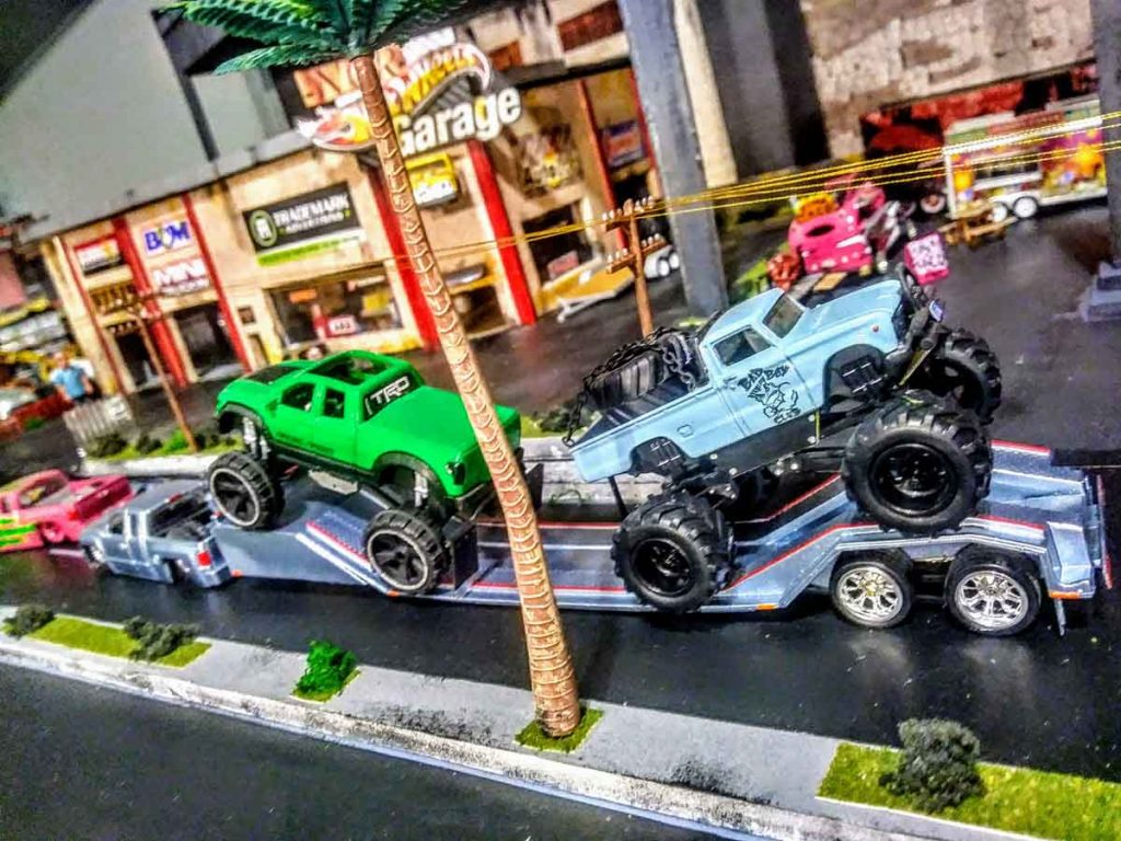NCRVille - Hot Wheels Car diorama