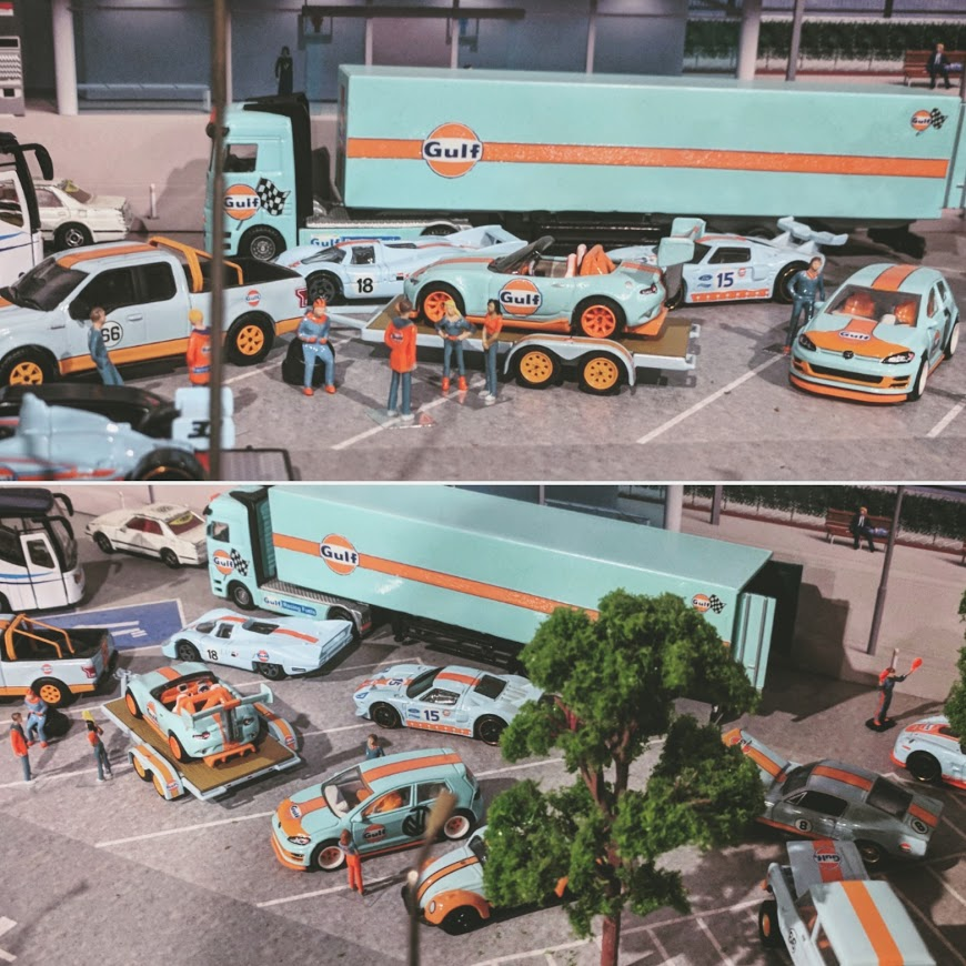 Gulf Diorama by My Custom Hot Wheels