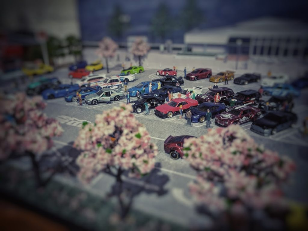 Through the Cherry Blossoms - JDM Meet in 1-64 scale 3