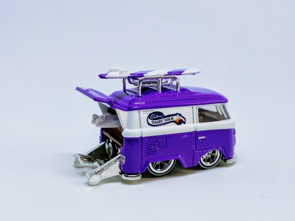 cadbury dairy milk custom Kool Kombi Hot Wheels