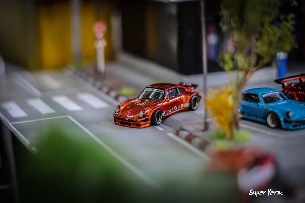 Amazing 1:64 scale diecast customs on display at the Thai Custom Model Festival