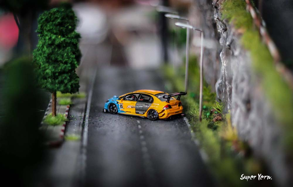 Amazing 1:64 scale diecast custom cars on display at the Thai Custom Model Festival