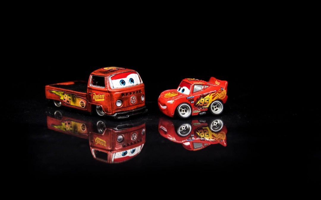 Lightning McQueen and Volks McWagen