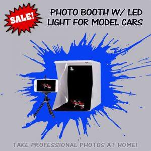 Portable photostudio LED Lightbox