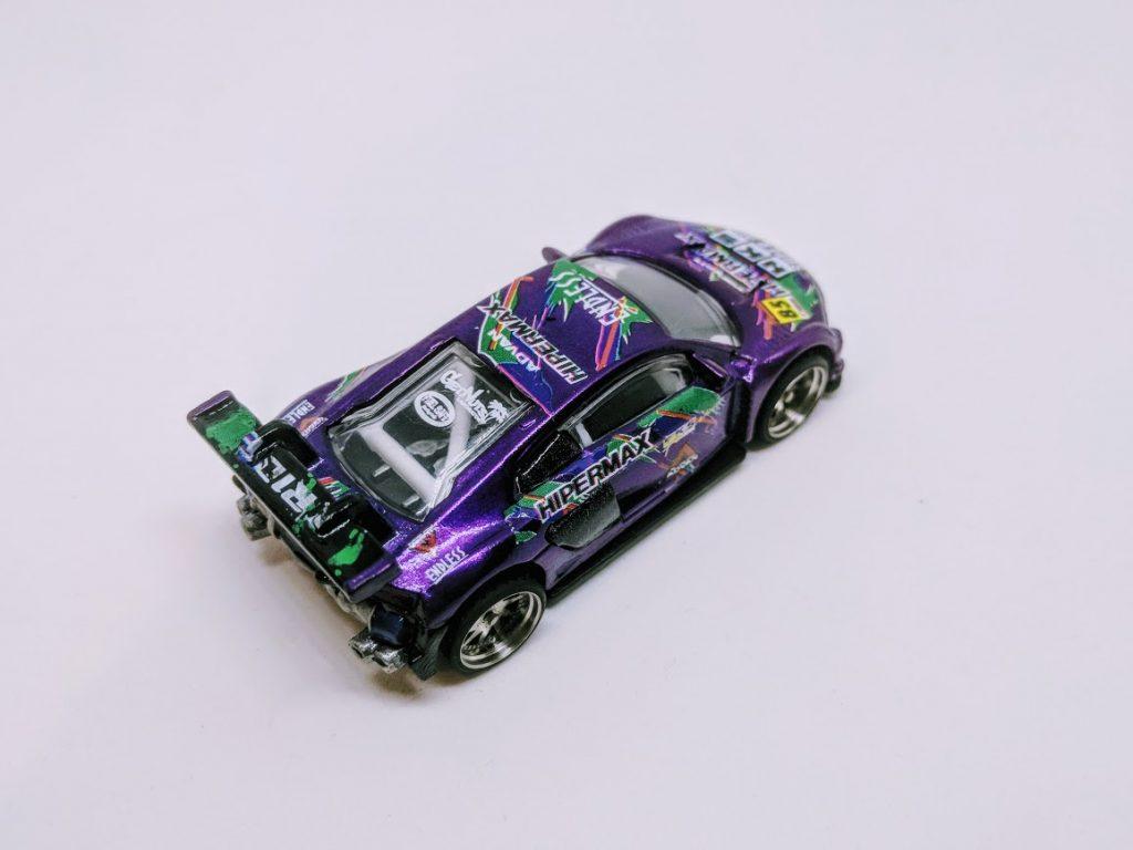 audi r8 LMS Hot Wheels Custom - Purple HKS