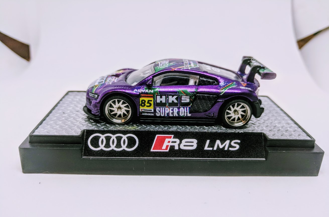 Audi R8 Lms Custom On Display 1 Custom Hot Wheels Diecast Cars