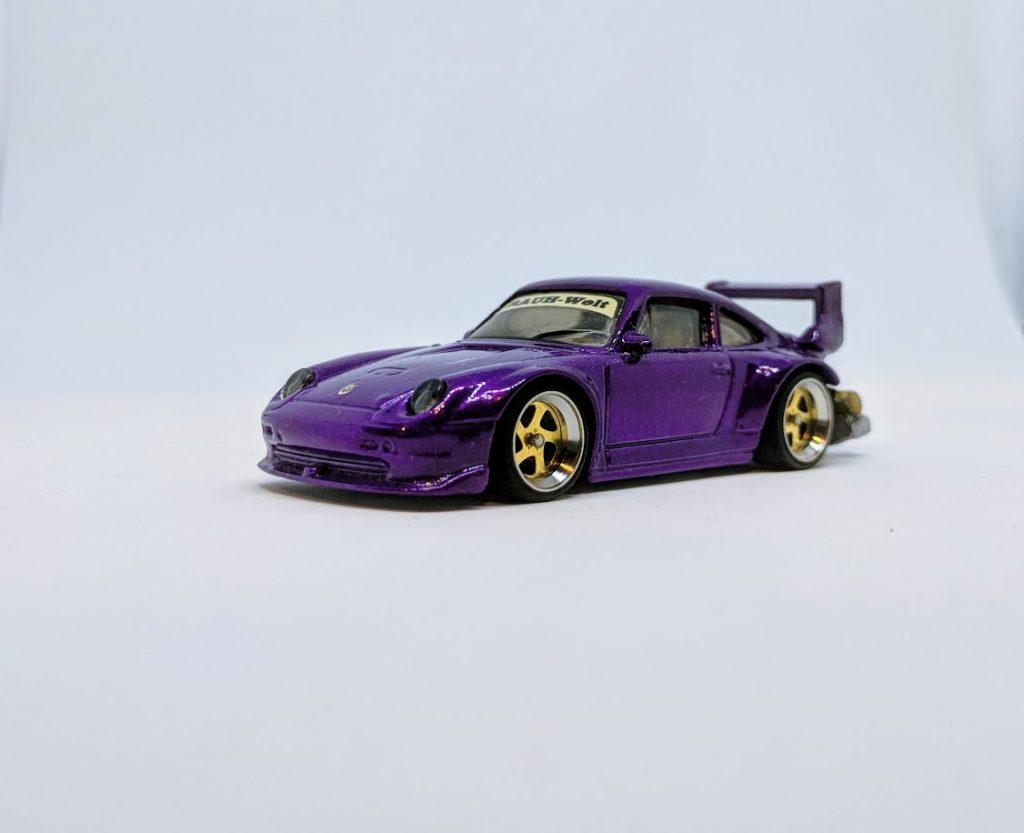 Purple Rauh Welt RWB Porsche Custom Hot Wheels