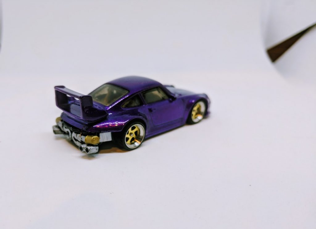 Purple Rauh Welt RWB Porsche Custom Hot Wheels