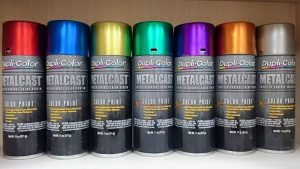 duplicolor metalcast for painting spectraflame on hot wheels