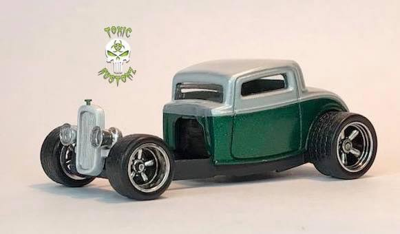 32 Ford and detailed engine by Marcus Sansone aka Toxic Kustomz