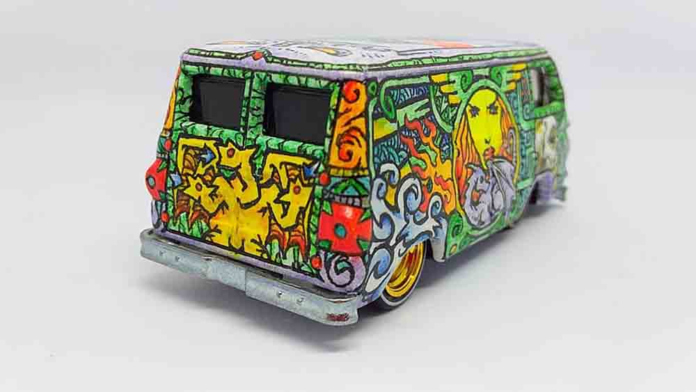 Artistic Dodge A100 by Bayu Ambono aka Bayoo Art