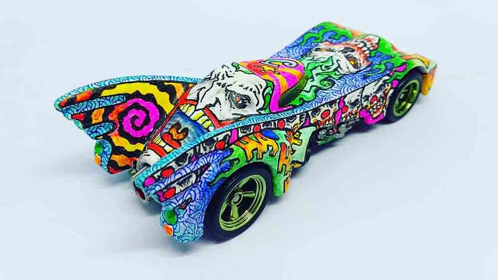 Artsitic Batmobile by Bayu Ambono aka Bayoo Art