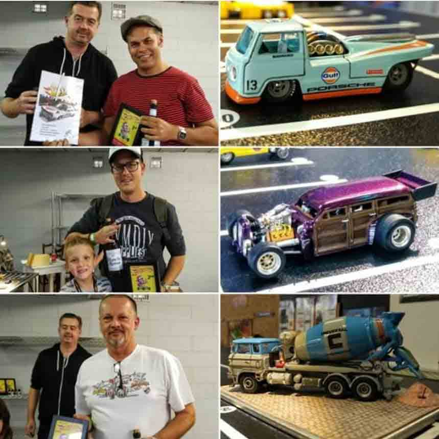 Belgian Hot Wheels Day WILD winners