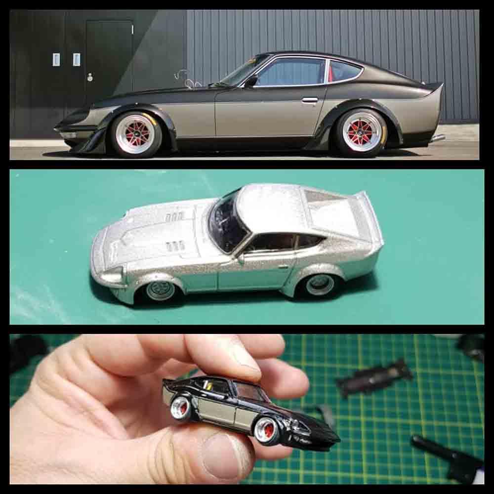 Datsun Fairlady custom by Cristiano Capparelli