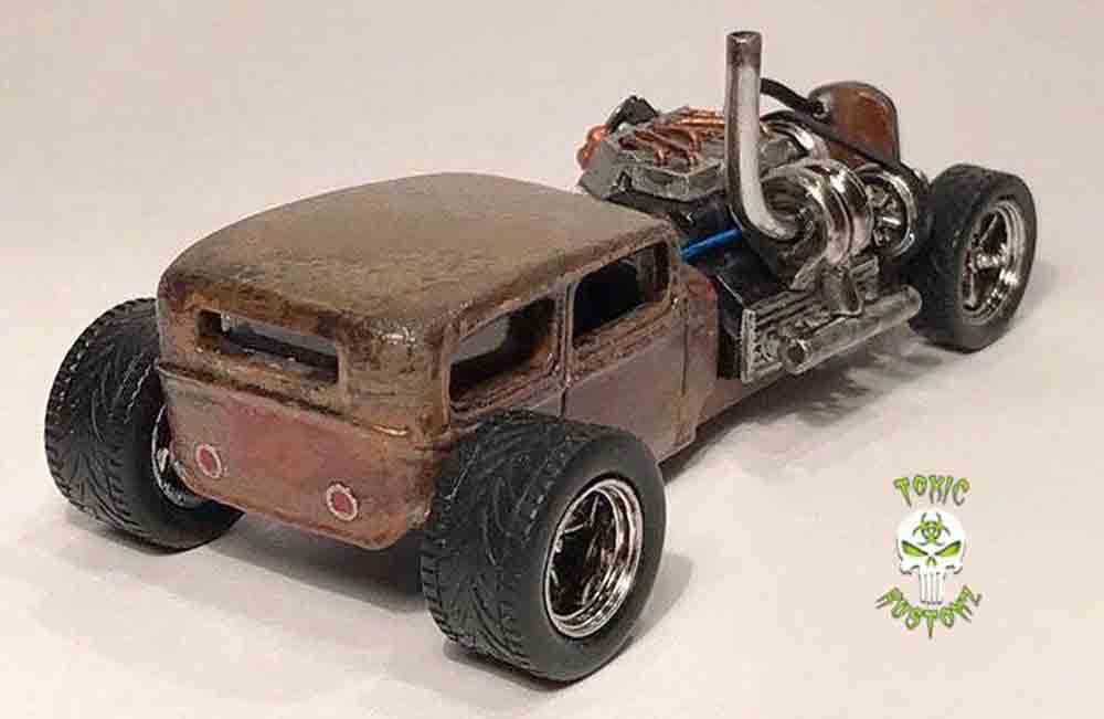 Epic Ratrod build by Marcus Sansone aka @Toxic_Kustomz