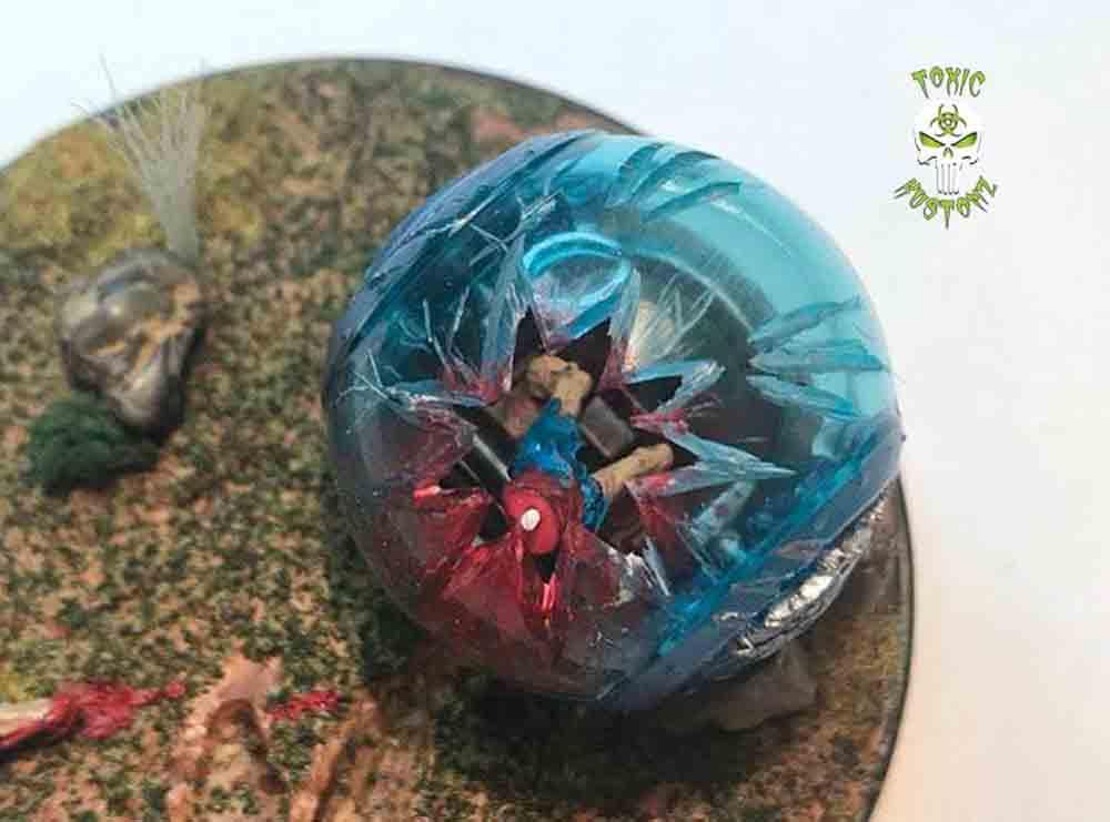 Gyrosphere Jurassic Park custom by Marcus Sansone aka Toxic_Kustomz
