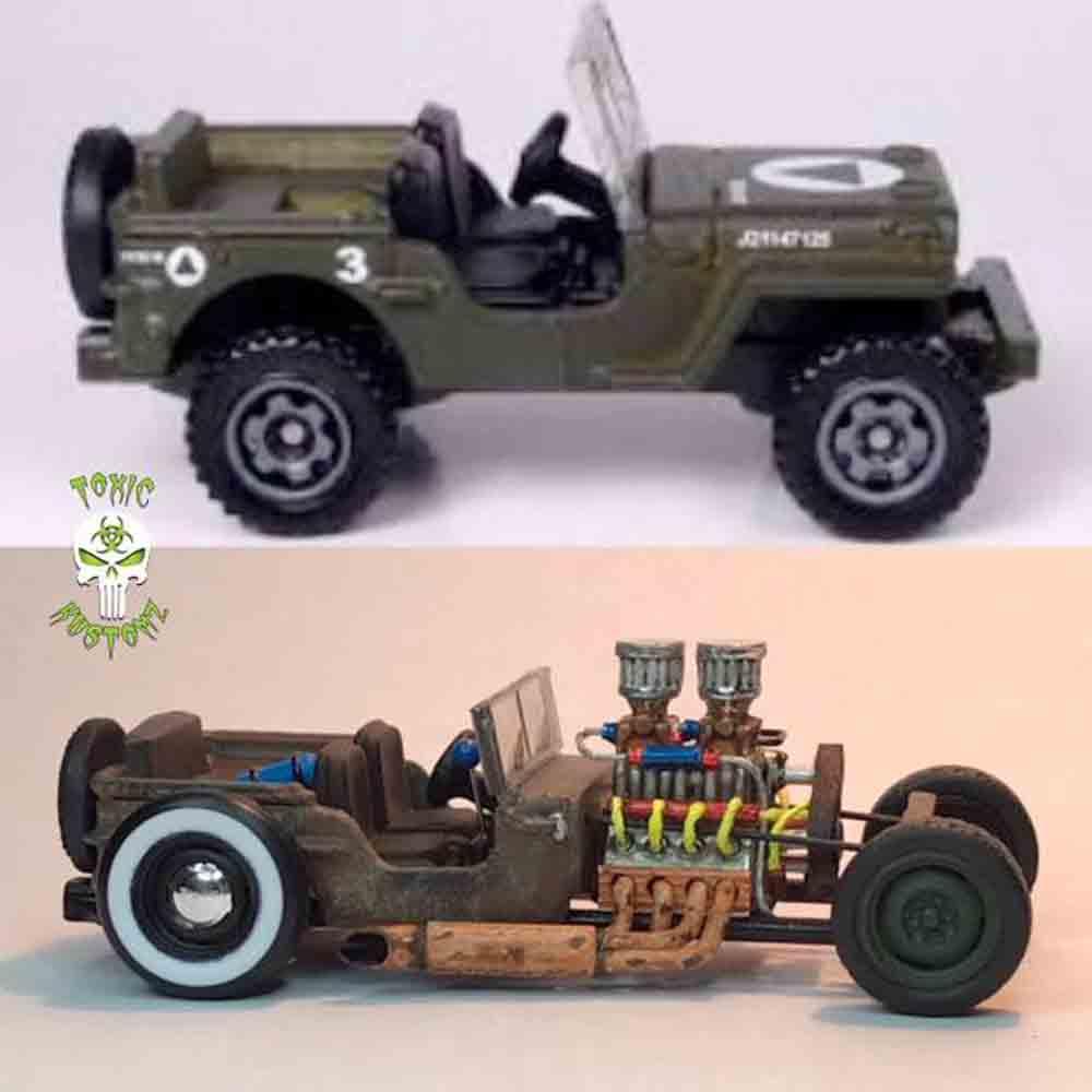 Jeep Ratrod by Marcus Sansone aka Toxic Kustomz