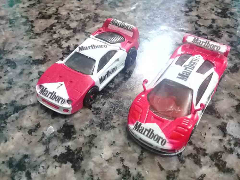 Marlboro custom Hot Wheels by Gerson Seibel