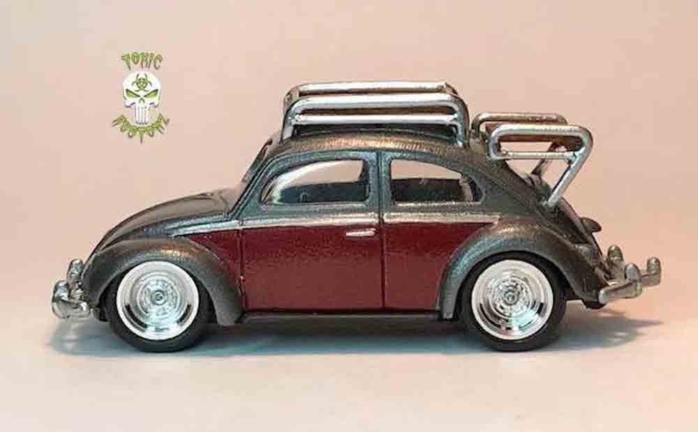 VW Beetle by Marcus Sansone aka Toxic Kustomz