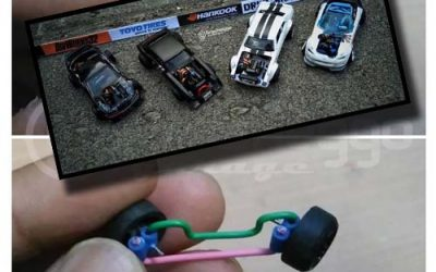 How To Create a Working Steering Rack for Hot Wheels