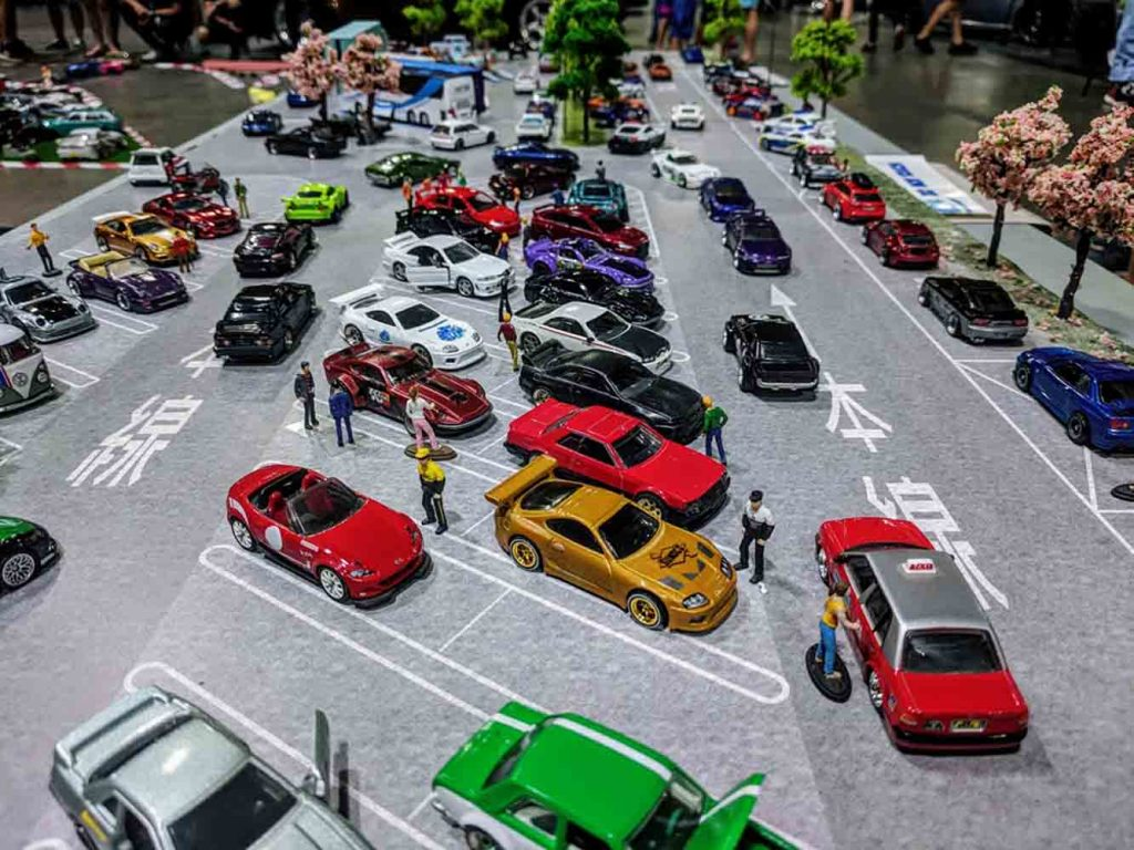 My Custom Hot Wheels on Display at Hot Import Nights Sydney 2018