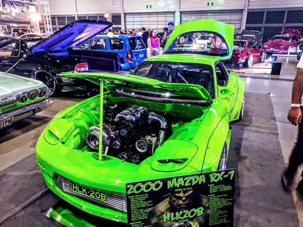 HULK 20B Triple Rotor Twin Turbo RX7