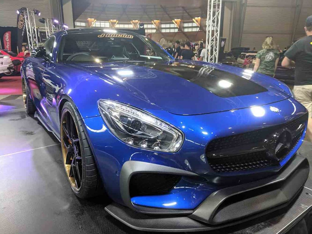 Awesome 1:1 Custom and Import cars on display at HIN 2018