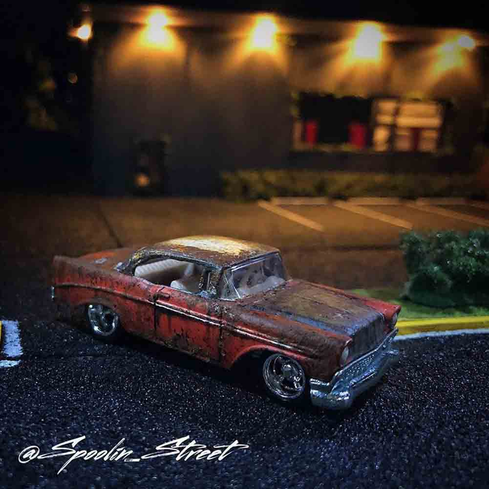 1:64 Diorama Buildings and Layout by Spoolin Street