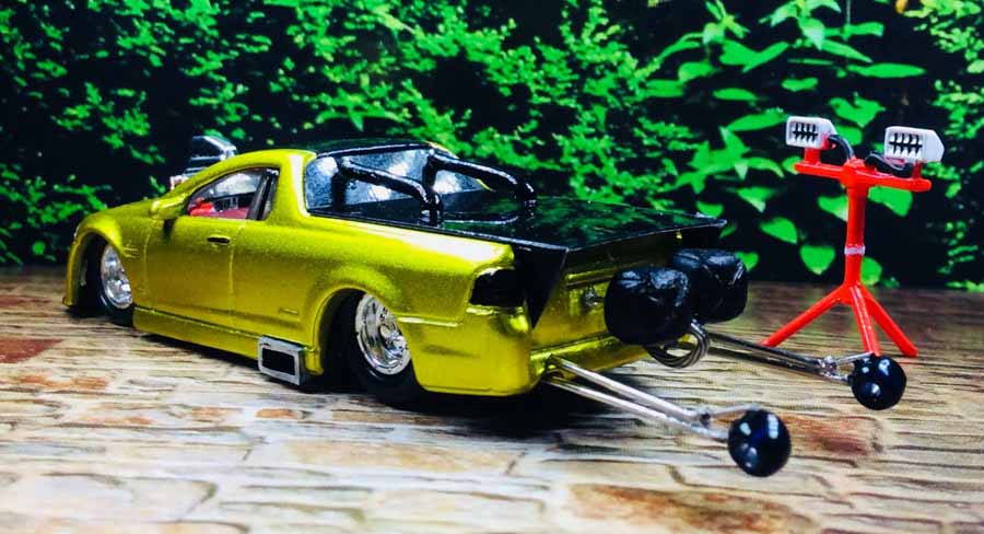 Custom 1:64 diecast model cars by top Aussie customiser Jade Rawson