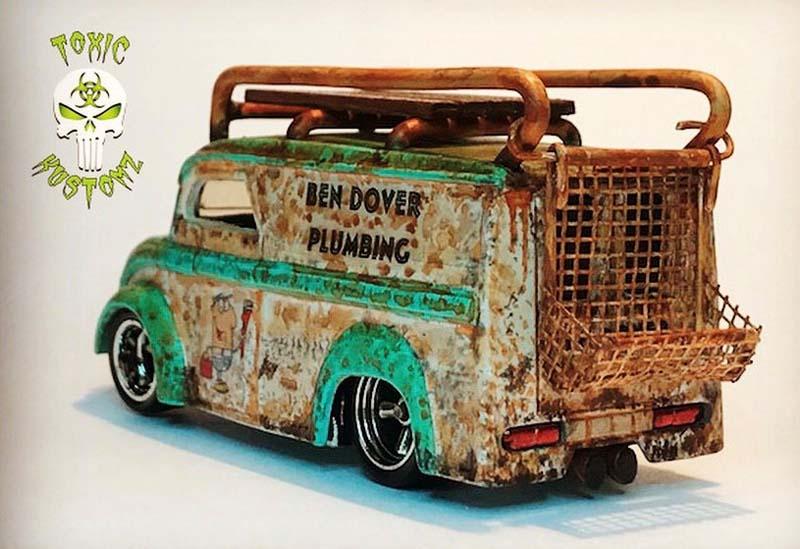 Ben Dover Plumbing Dairy Delivery Custom