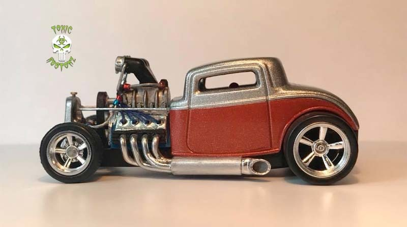 Blown & Injected '32 Ford Hot Rod Custom