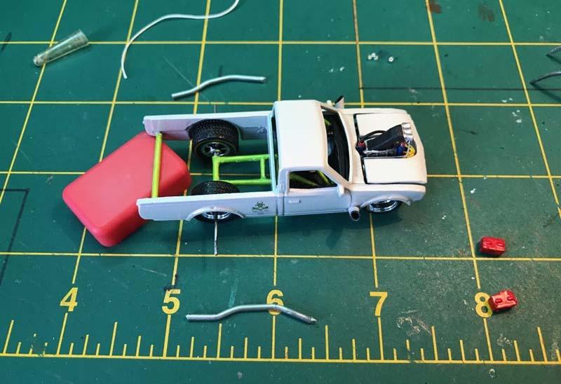 Datsun 620 Drag Truck