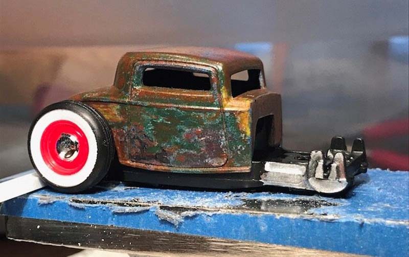 Injected 32 Ford Custom Hot Wheels