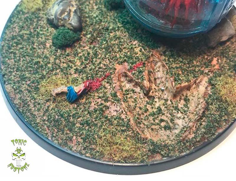 Jurassic World Gyrosphere Diorama