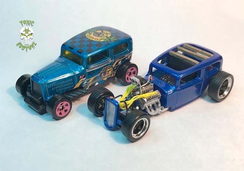 Midnite Otto Hot Rod Custom Hot Wheels