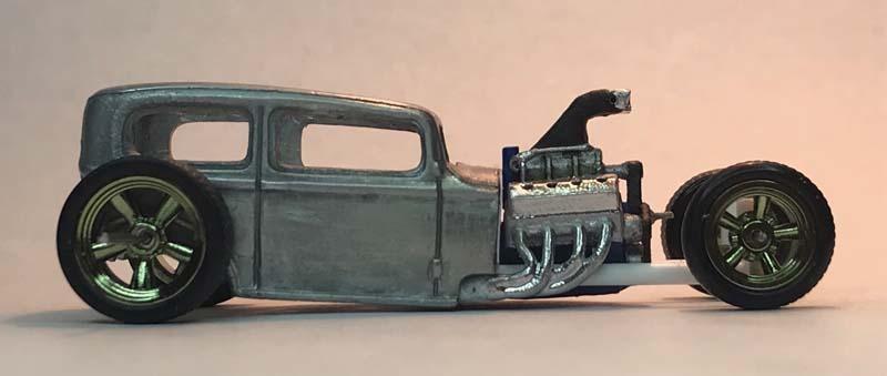 Midnite Otto Hot Rod Custom Hot Wheels