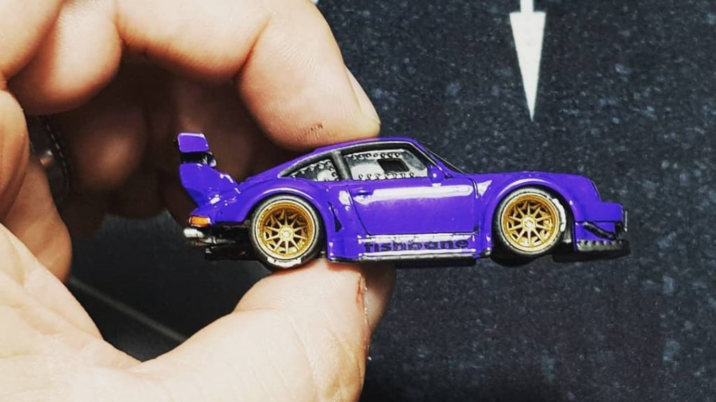 Widebody Porsche RWB Hot Wheels custom