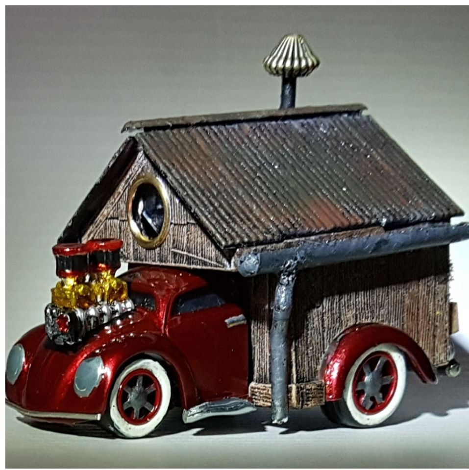 Jools Grant Tooned Beetle House