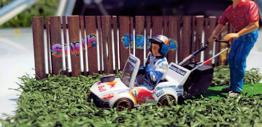 Mark Denton Red Bull Tooned Manga Mower