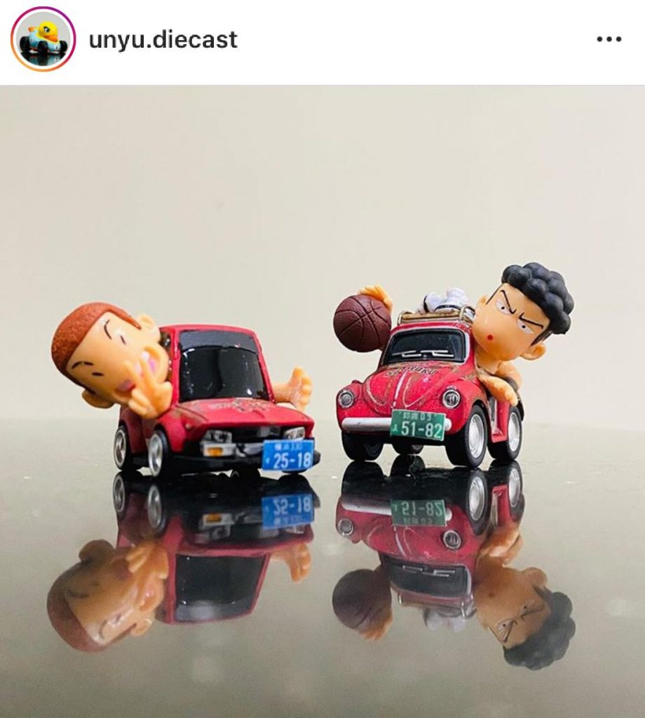 custom tooned diecast cars
