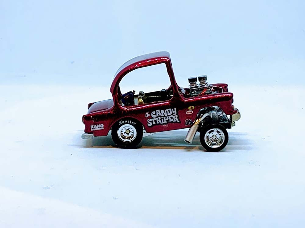 Custom tooned Candy Striper Gasser