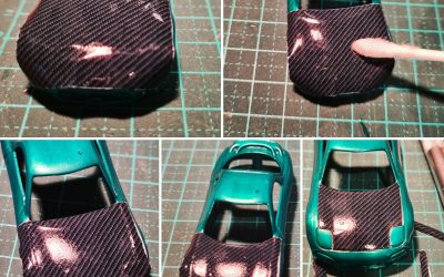 Decal Guide – How to Apply Carbon Fibre to Body Panels